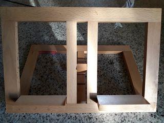 Atril madera maciza