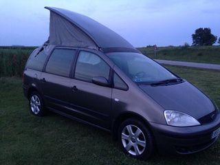 Ford galaxy camper