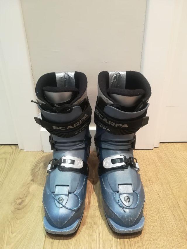Botas esqui ski travesía de mujer