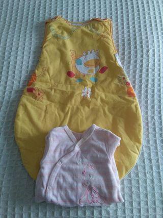 ropa bebé saco