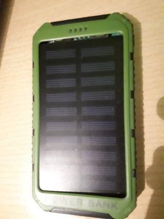 Cargador solar de movil
