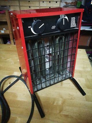 2 Calefactores Industriales 3 kw