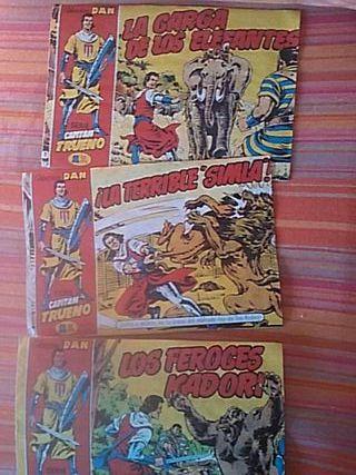 Comics Capitan trueno Coleccion Dan