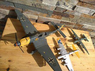 Maquetas de aviones de guerra