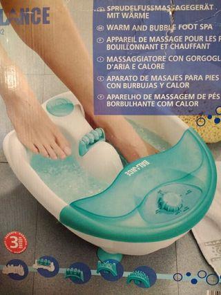 Aparato de masajes para pies