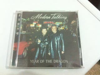 Modern Talking Year Of The Dragon CD