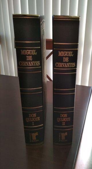Don Quijote 2 tomos Nuevos