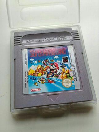 Juego Super Mario Land Game Boy.