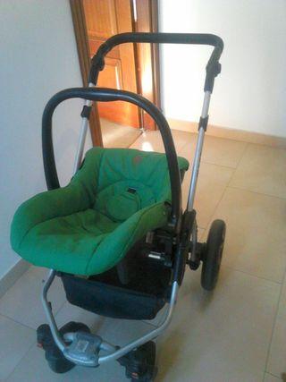 coche capota convertible en silla con maxicosi