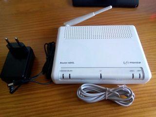 Router wi-fi ADSL Movistar. Nuevo.