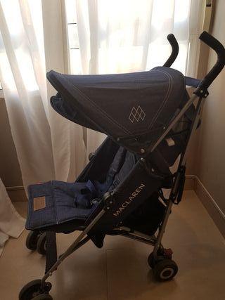 Carro bebé Maclaren Style Se t Quest Denim vaquero