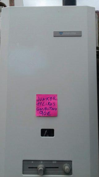 calentador junkers 11l y 18l butano manual
