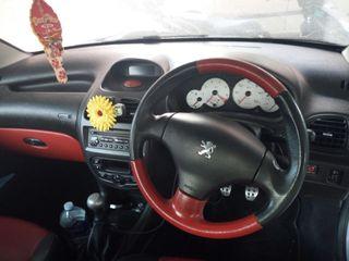 Peugeot 206cc cabrio , ańo 2003