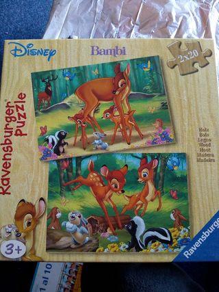 Puzzle Disney de madera