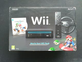 Consola Wii Mario Kart Pack + Wii Sports