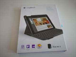 Teclado logitech para ipad air 2