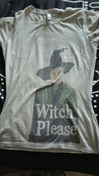 camiseta mc gonagall harry potter