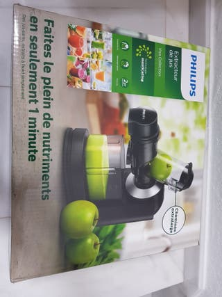 philips extractor de zumo viva collection