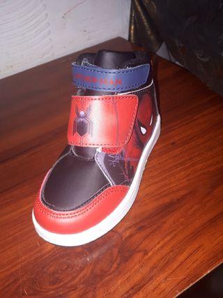 zapatillas spider man