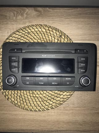 Radio cd Audi A3 8p original