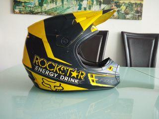 casco moto cros enduro FOX