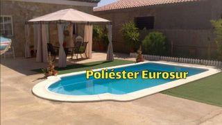 piscinas de poliester baratas de varias medidas