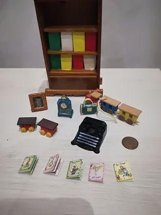 miniaturas casa muñecas