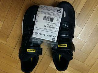 Zapatillas carretera Mavic con calas nuevas