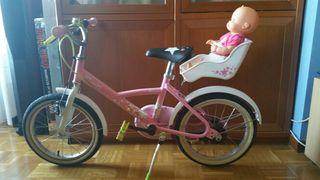 Bicicleta niña (dos rueda)