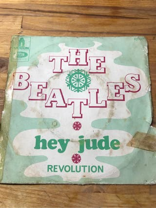 Single The Beatles Hey Jude