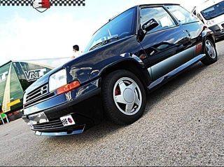 Renault super5 gt turbo 1989