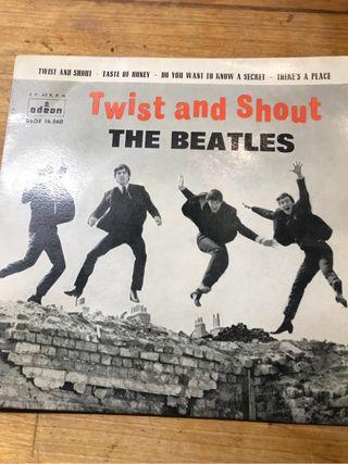 Single The Beatles Twist ...