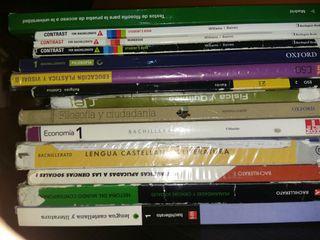 Libros de texto de ESO y Bachillerato