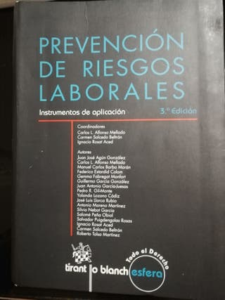 Libro Master en Prevención de Riesgos Laborales