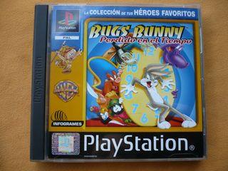 Bugs Bunny, Perdido en el tiempo. PS1 PAL