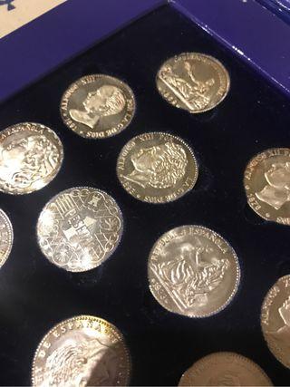 Monedas plata pesetas