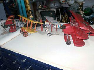 colección de aviones