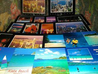 Postales Hong Kong, Tailandia