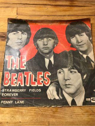 Single The Beatles Strawberry