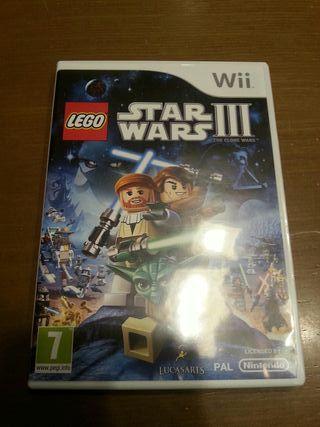 juego Wii U Star Wars III