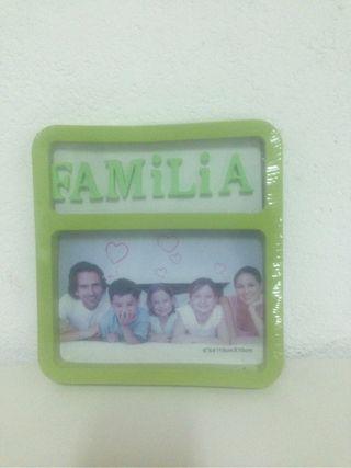 Marco foto familia