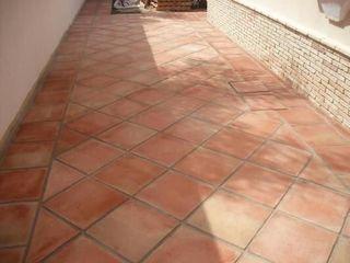Limpieza de terrazas de barro