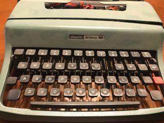 Maquina de escribir olivete