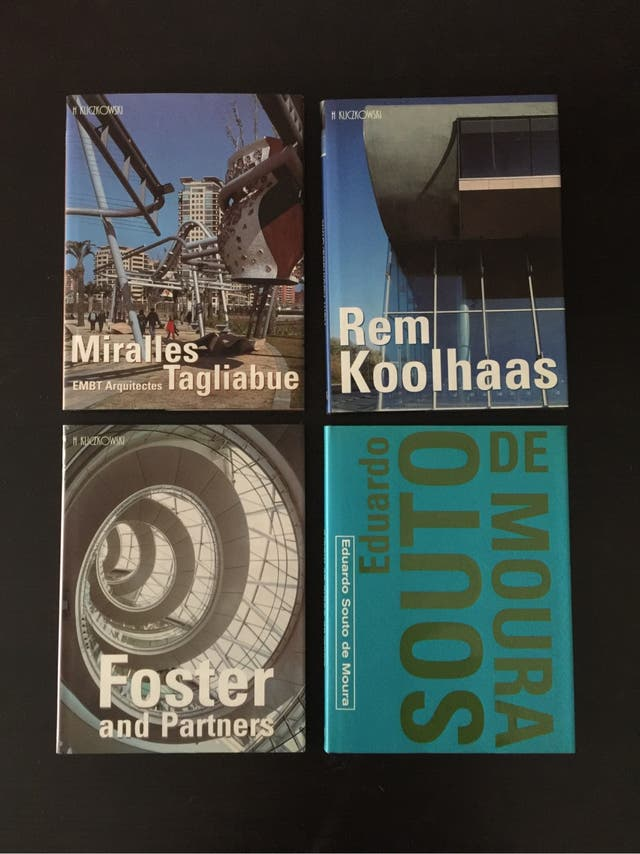 Libros arquitectos