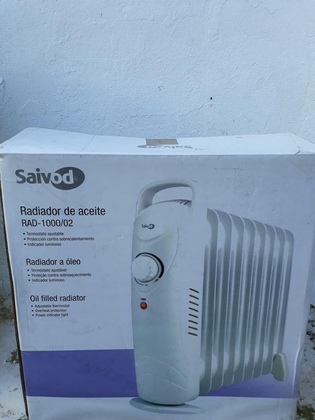 estufa radiador pequeña