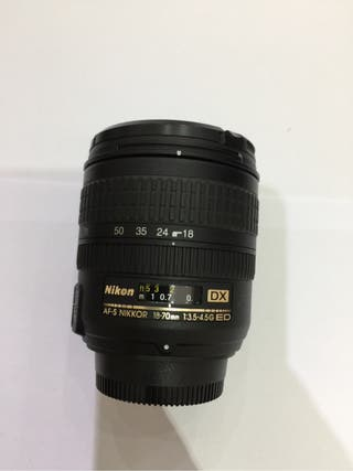 Objetivo Nikon 18-70mm