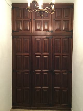 Puertas de madera para armario