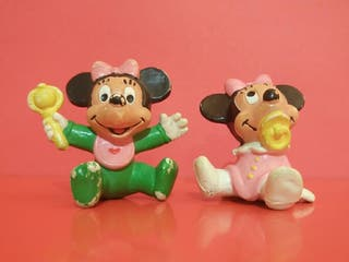 1985 Minnie Mouse Bebé en PVC