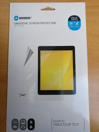 Protector pantalla tablets