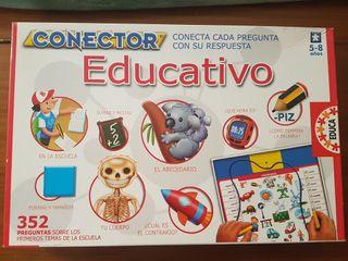 Juego Conector De( Educa)